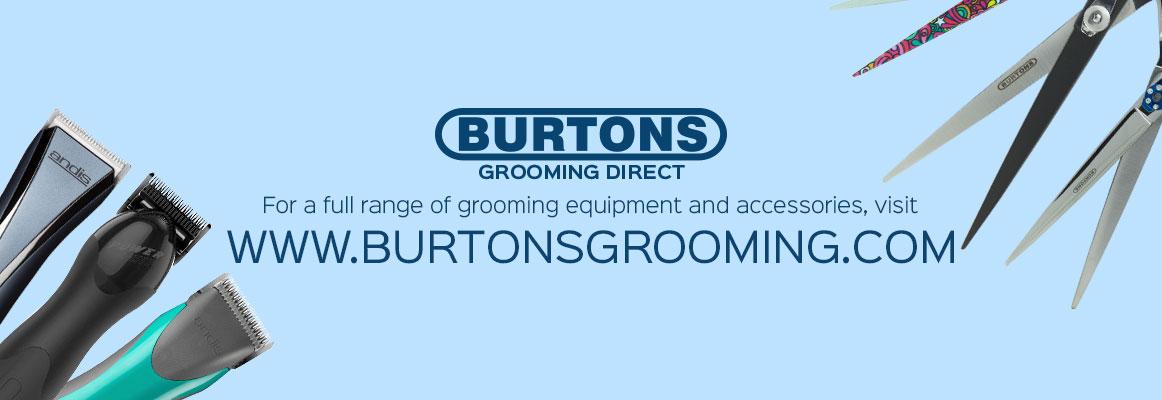 burtons grooming banner