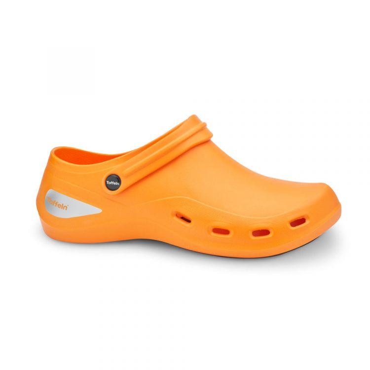 Toffeln AktivKlog - Orange - Size 13 - Clearance