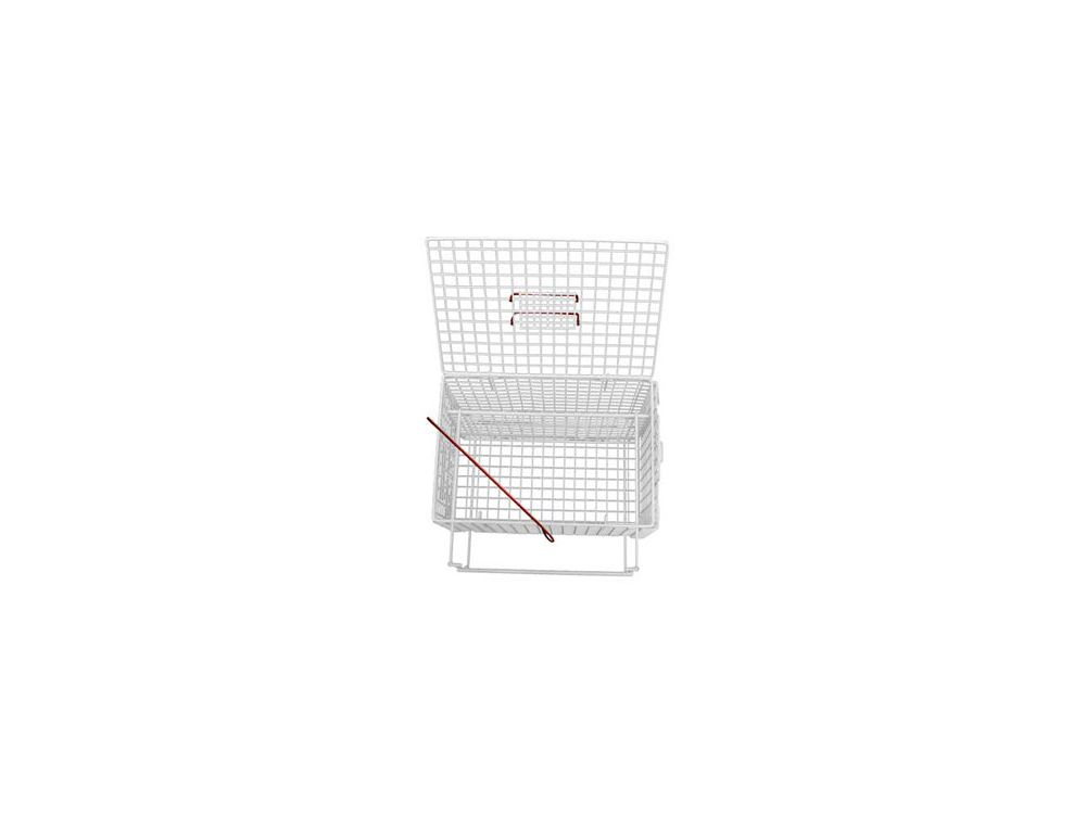 End Opening Restrainer Cage Size
