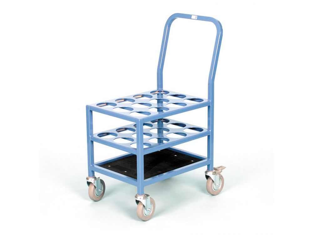 Multiple 'E' Size Cylinder Trolley