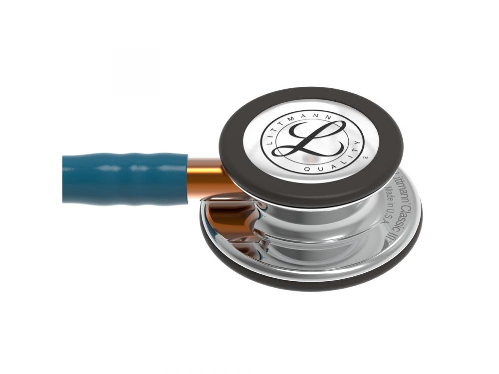 Littmann Classic III Stethoscope - Grey Tubing - Grey Stem - Smoke Chestpiece