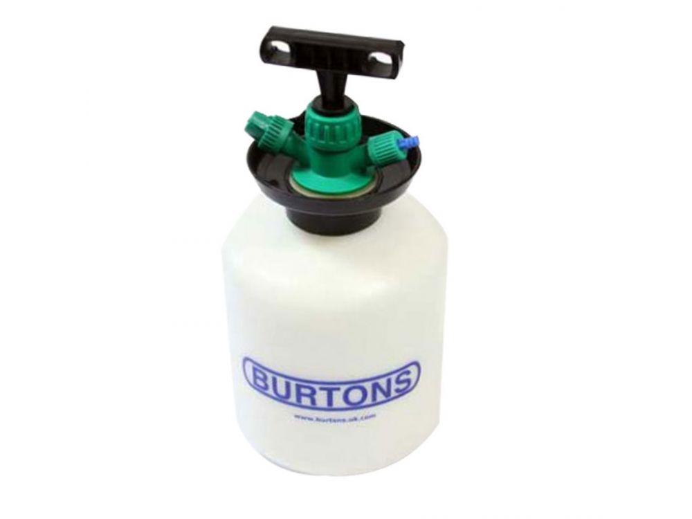 Burtons Pump Up Water Bottle
