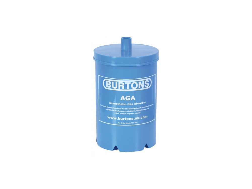 Burtons Anaesthetic Gas Absorber - Single