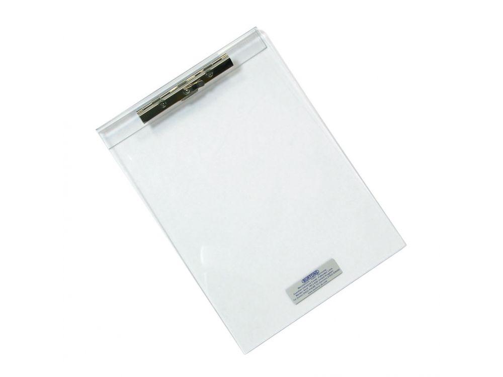 Clear Plastic A4 Clip Board