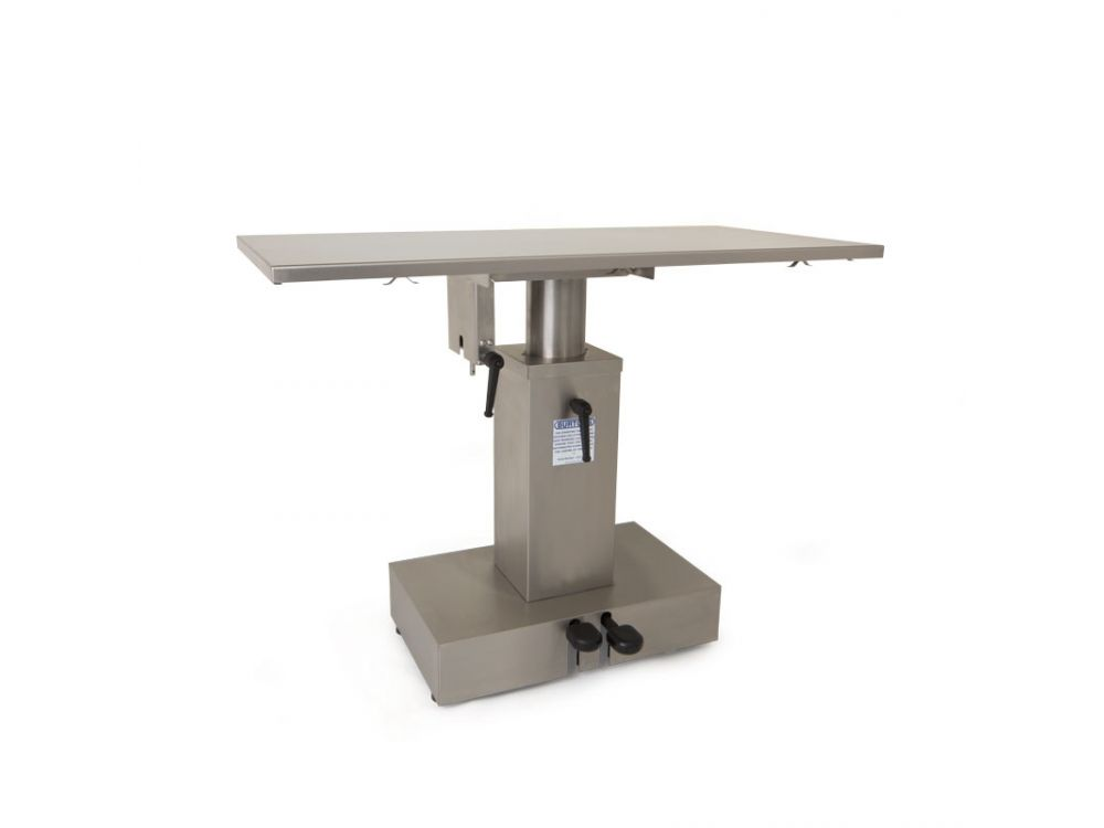 Burtons Electric Operating Table With Standard Lead Lined Flat Operating Table Top - Clearance
