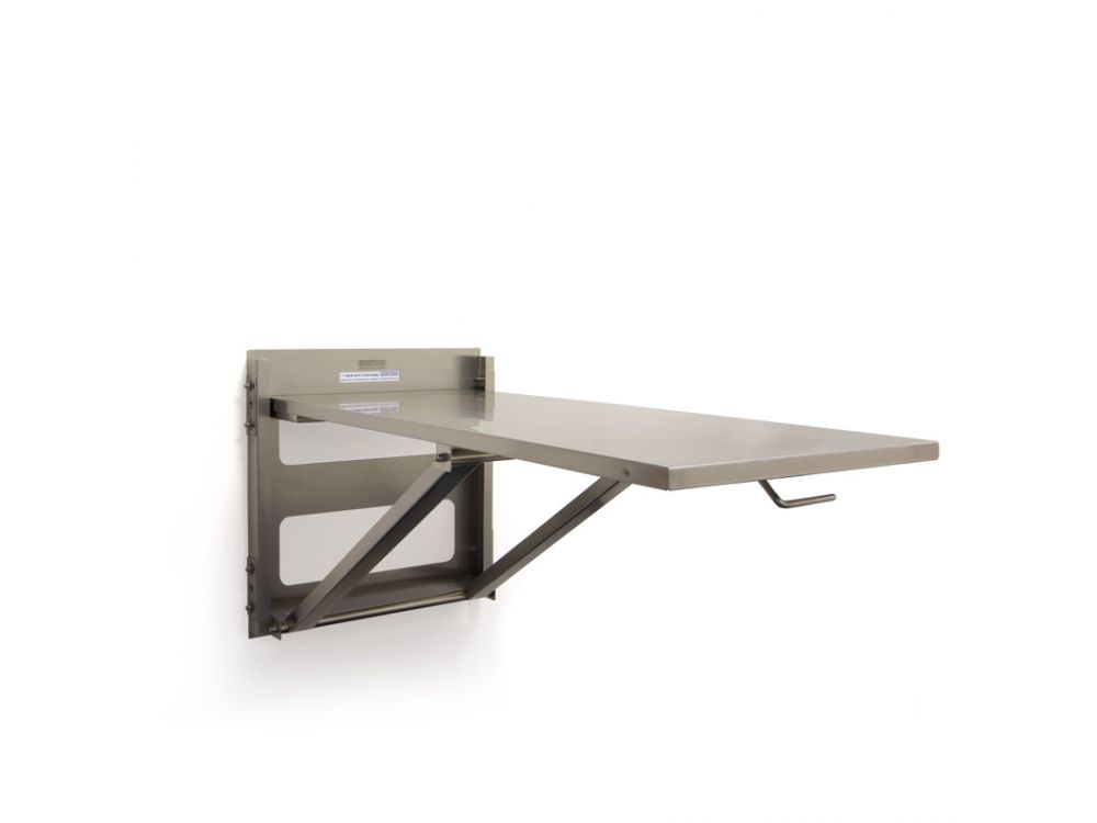 Burtons Fold Up Wall Mounted Table