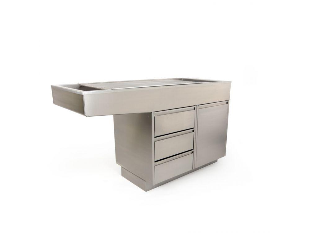 Burtons Stainless Steel Tub Table