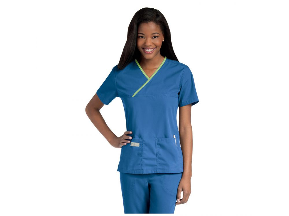 Urbane Ladies Crossover Scrub Tops