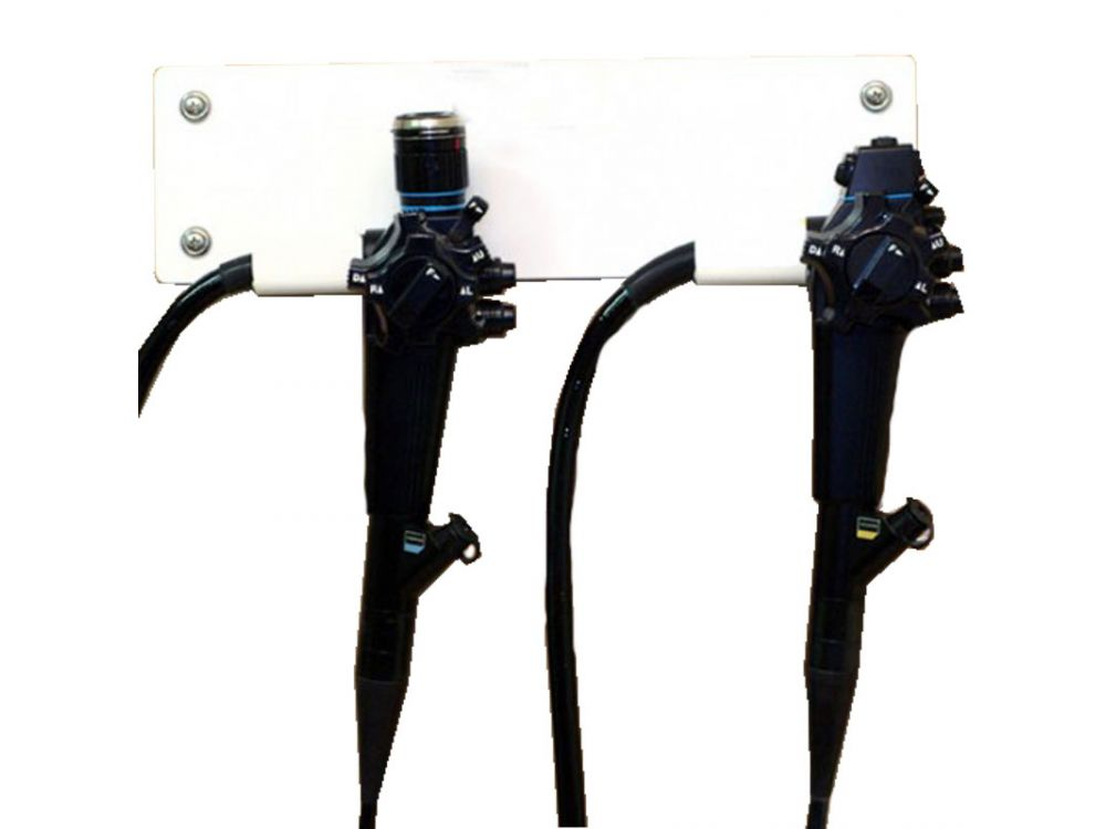 ScopeSecure Wall Mounted Scope Rack 2 x Scopes