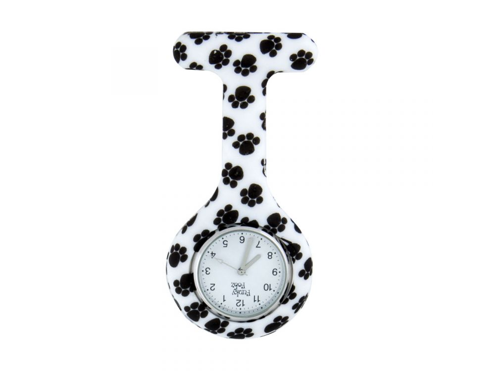Patterned Silicone Gel Fob Watch