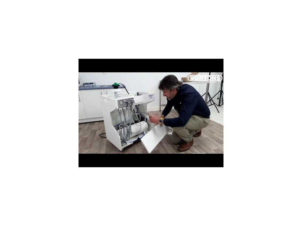 Burtons VETair2 Mobile Dental Unit with Scaler