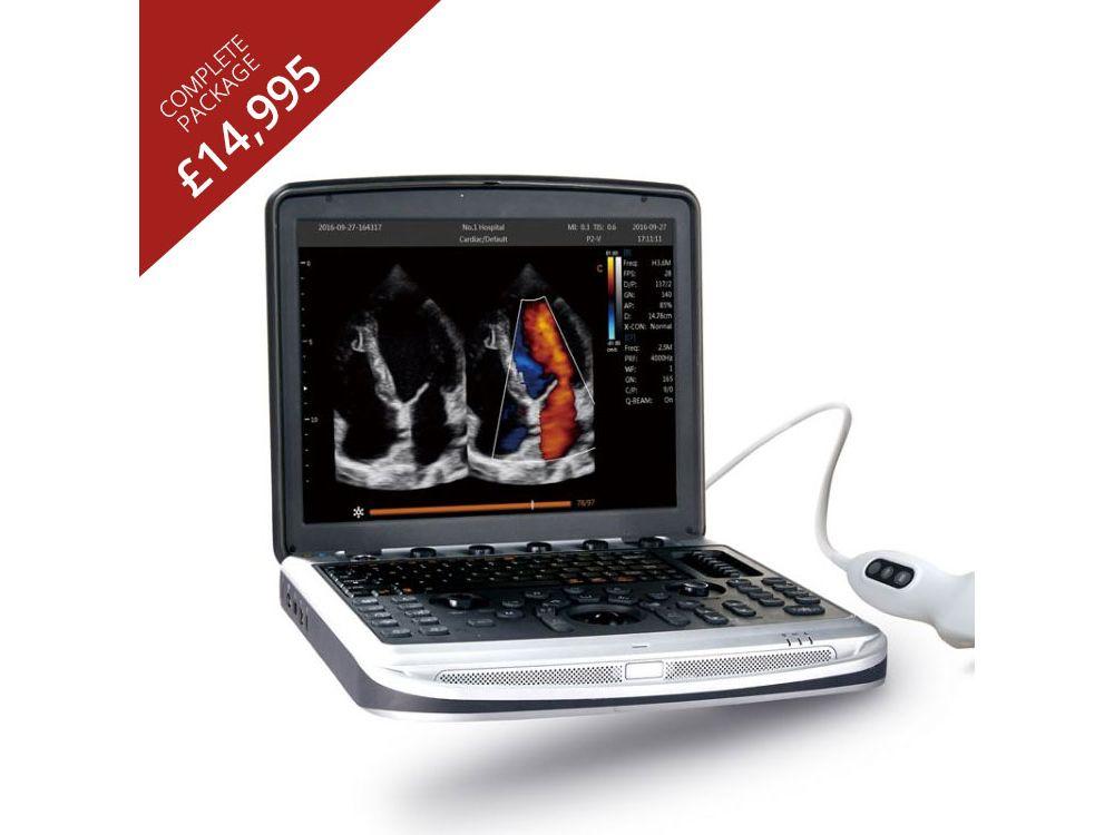 Chison SonoBook 8 Vet Ultrasound Unit