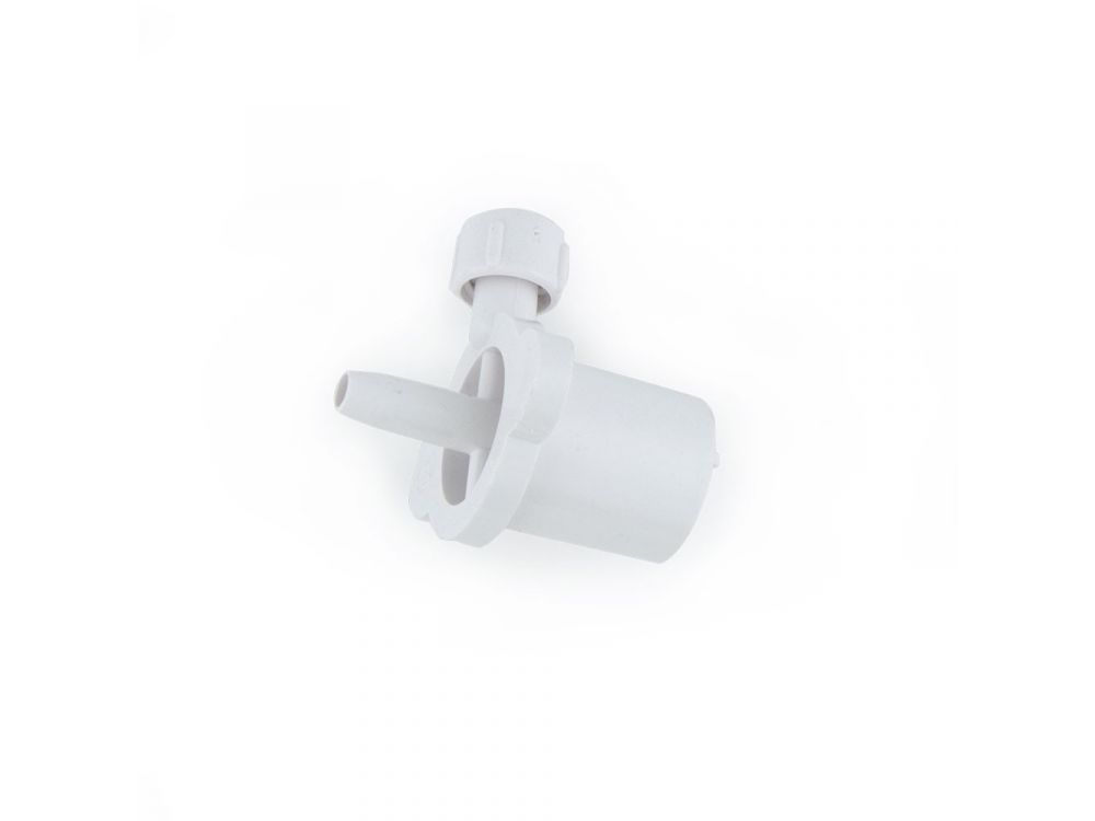 Low Deadspace Connector with sideport - 3.5mm