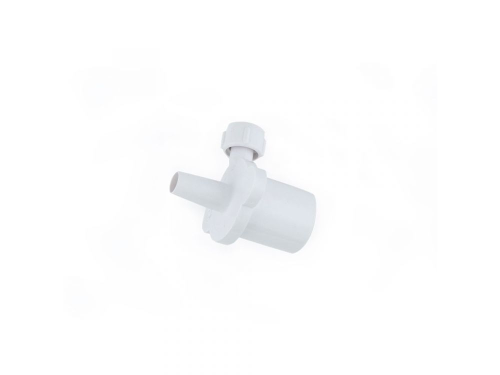 15mm ISO ET Connector with Sideport - 4mm