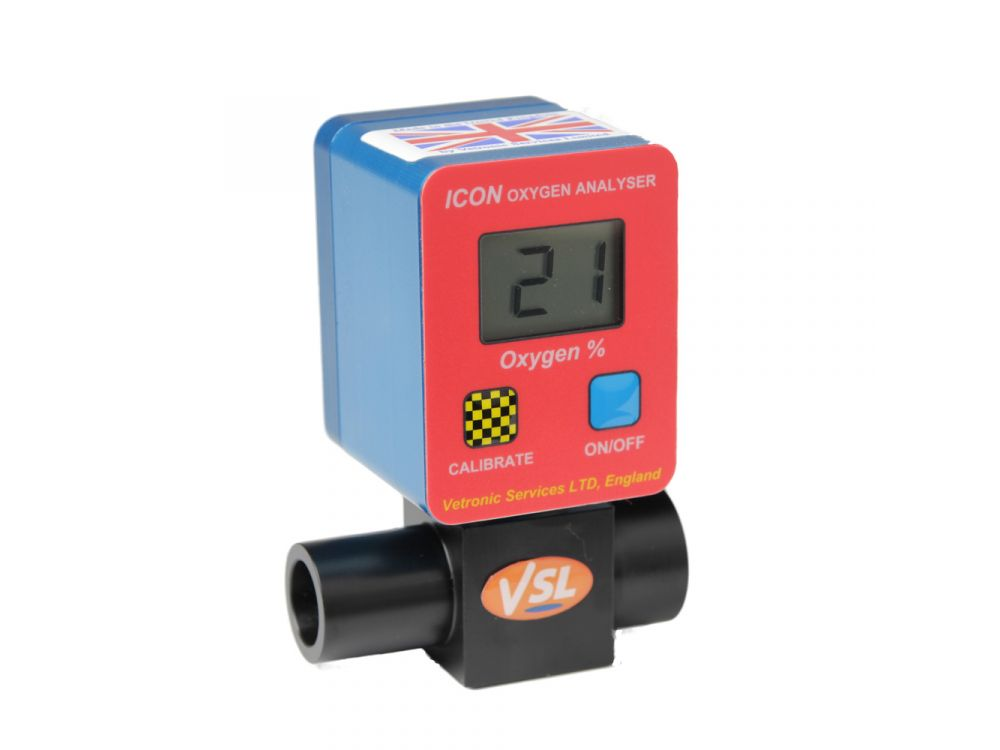 Vetronic ICON Oxygen Analyser