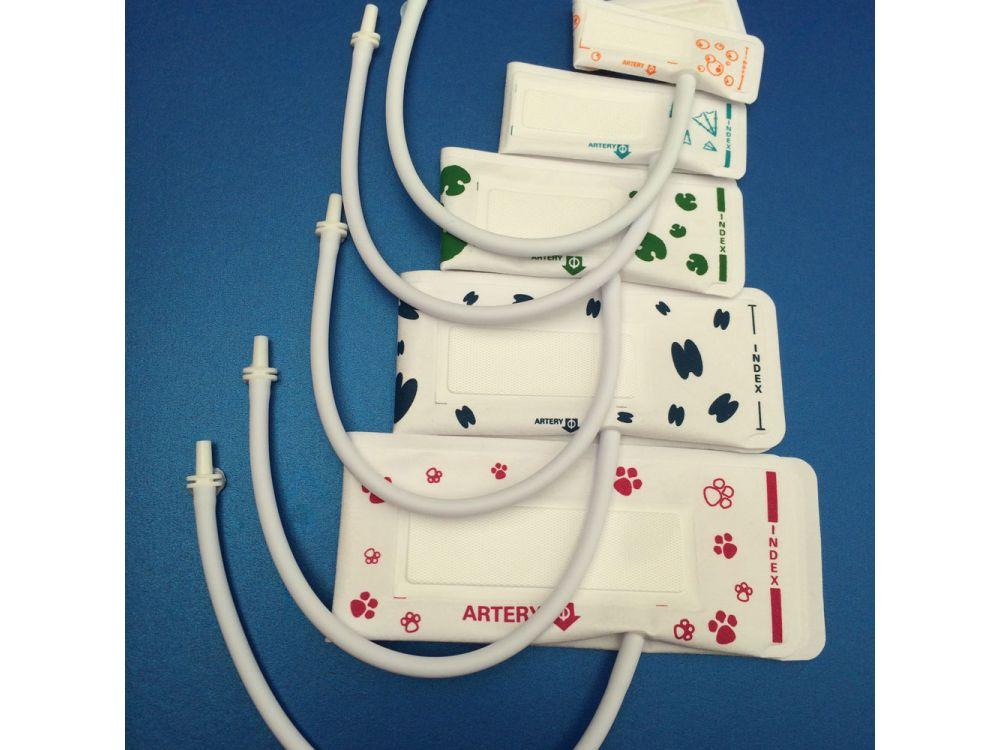 Set of 5 Veterinary Blood Pressure Cuffs